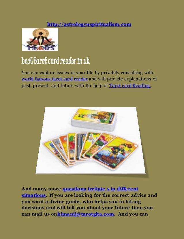 Best tarot card reader in uk