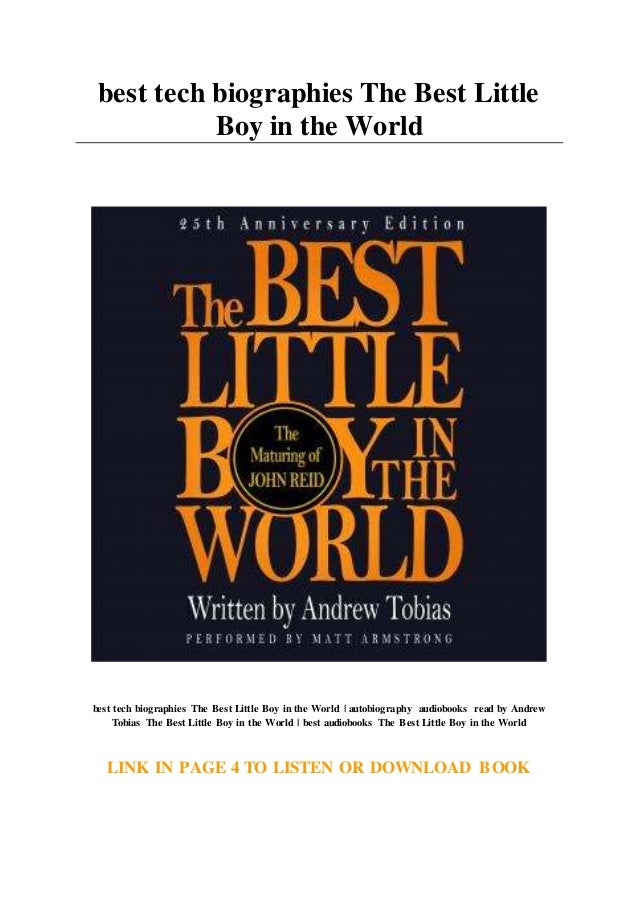 Download The Best Little Boy In The World By Andrew Tobias