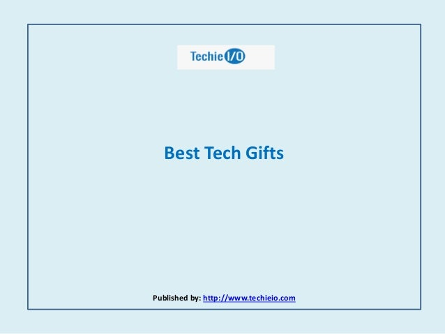 Best tech gifts for Best new tech gifts
