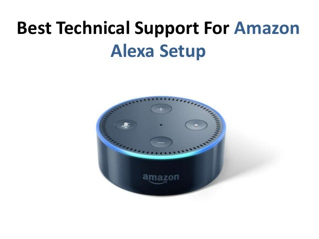 Best Technical Support For Amazon Alexa Setup