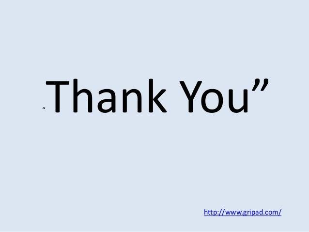 "http://www.gripad.com/ ""Thank You"""