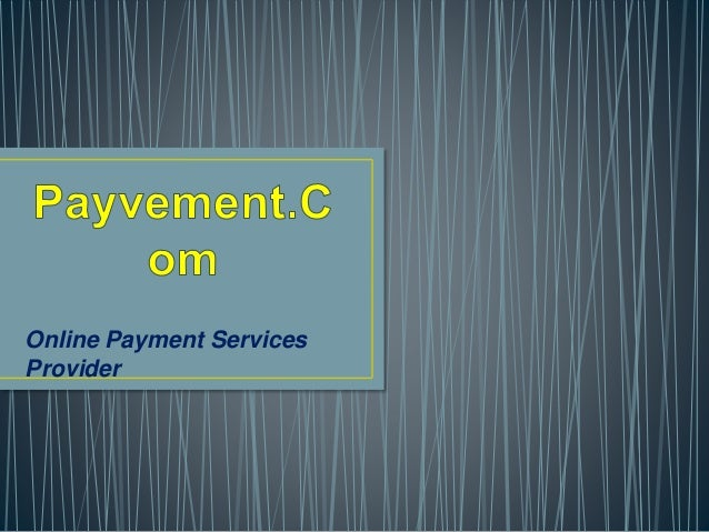 Online Payment Services Provider
