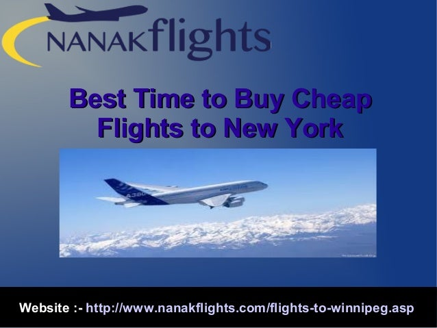 Best time to book a flight online to new york for Best website to find cheap flights