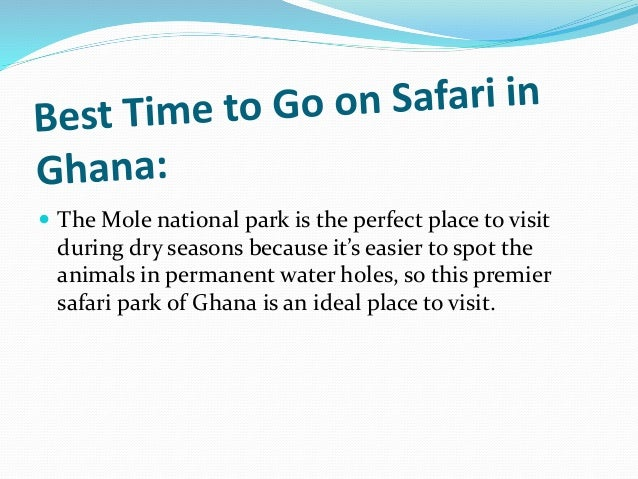 Best Time To Travel Accra