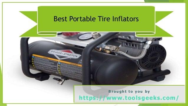 Best Portable Tire Inflators