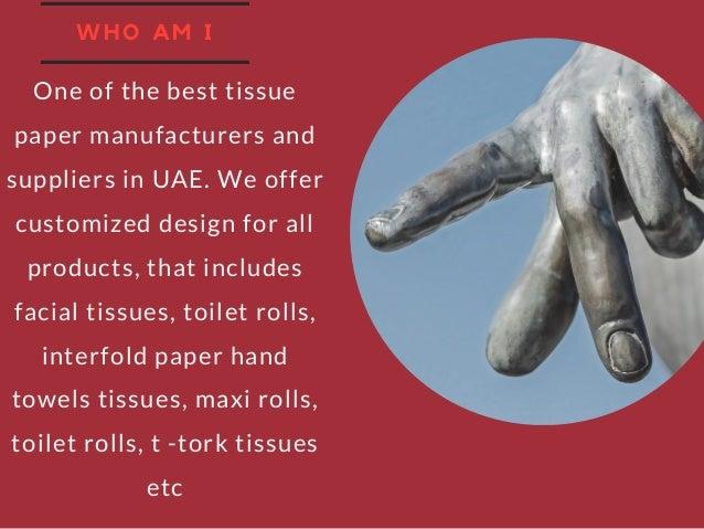 Best tissue paper manufacturer and supplier in UAE