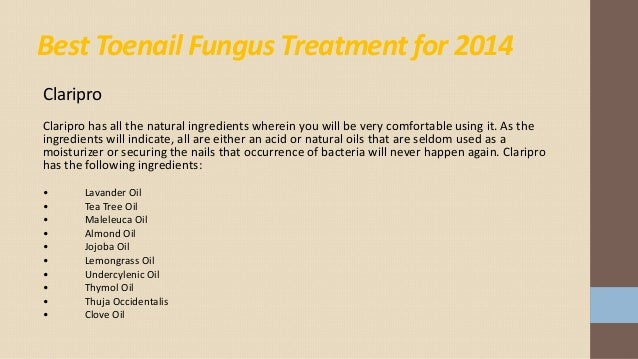 Best All Natural Toenail Fungus Treatment