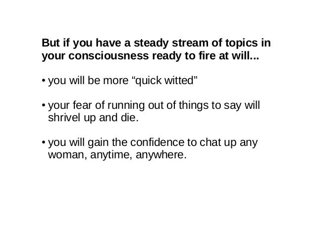 What topics to chat with a girl
