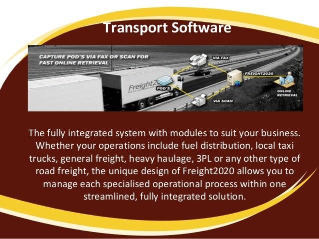 Transport Software | Logistics Software | Fleet Management ...