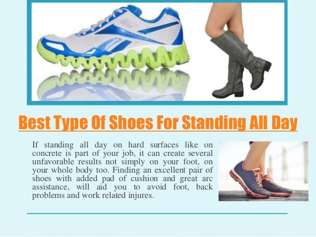 standing job shoes