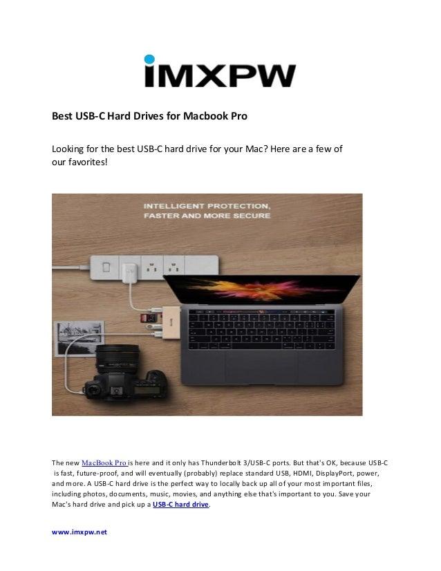 best usb c hub for macbook pro