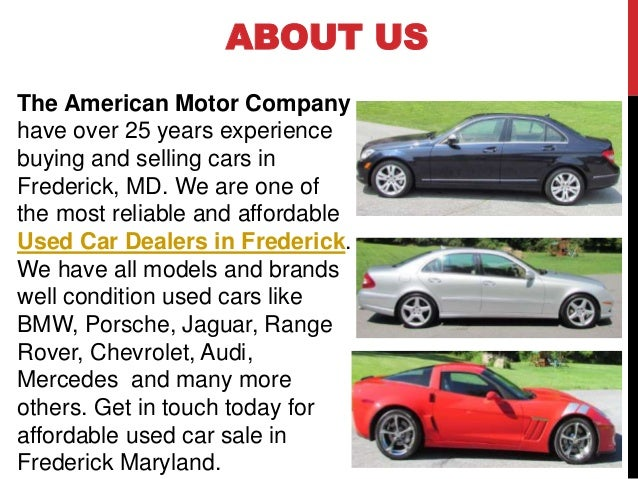 Used Car Dealerships In Frederick Md >> How To Find Used Car Dealers In Frederick Maryland