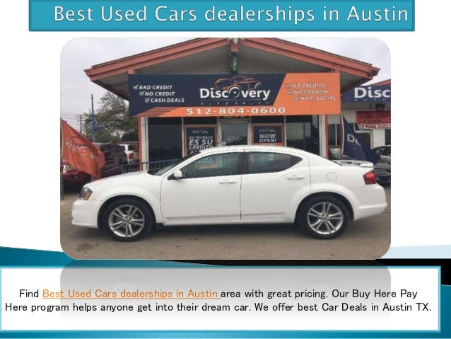 dealerships with great deals