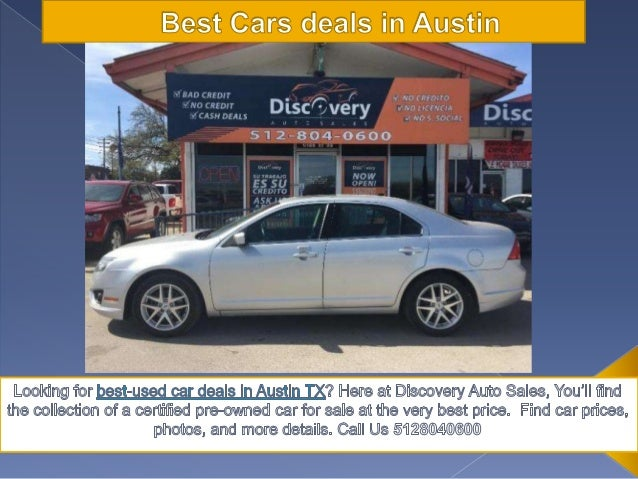 Discovery Auto Sales >> Best Used Cars Deals Austin Discovery Auto Sales