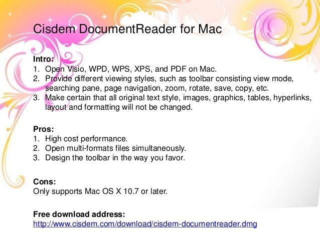 wps reader for mac