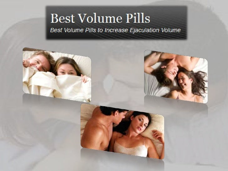Volume Pills Vs Semenax
