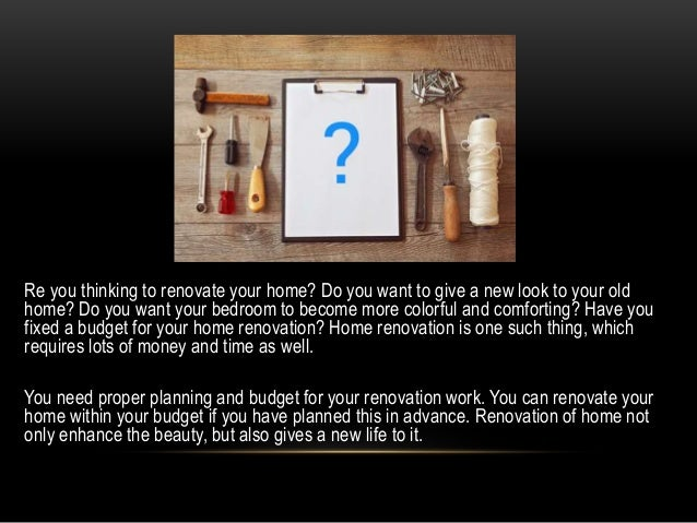 Best ways to save money on home renovation for Fastest way to save for a house