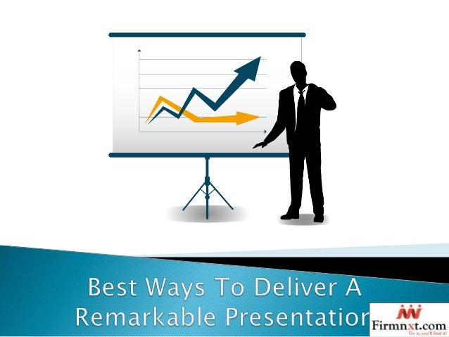 different ways to deliver a presentation