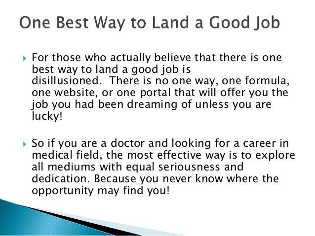Best Ways To Find Doctor Jobs In 2017