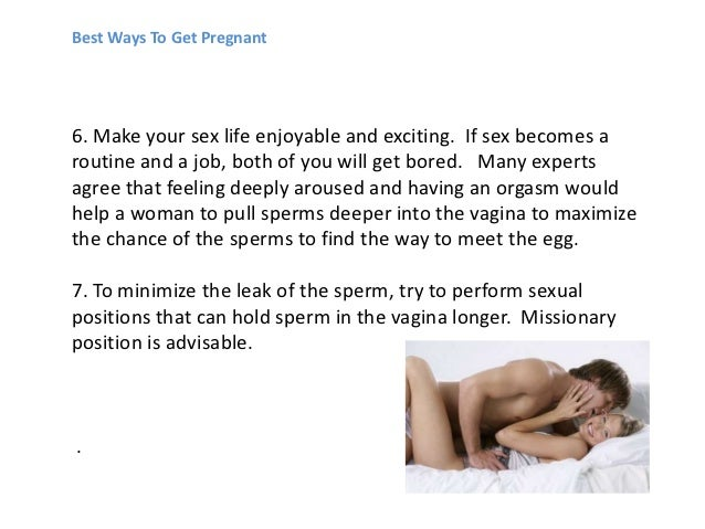 Ways to make sex exciting
