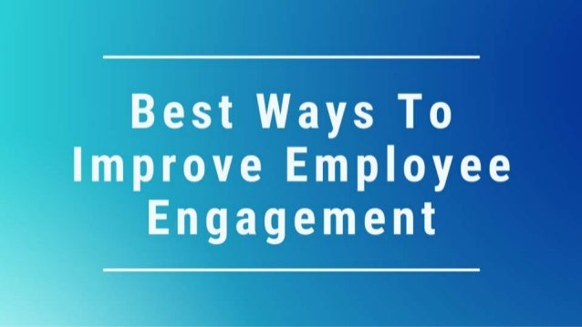 Employee engagement is very important for the healthcare organizations. As studies have shown that there is a correlation ...
