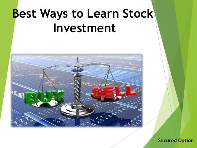 Best online investment options