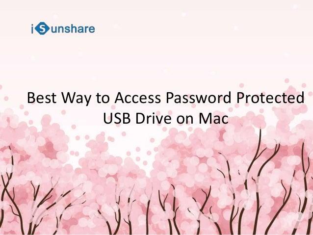 password usb key mac