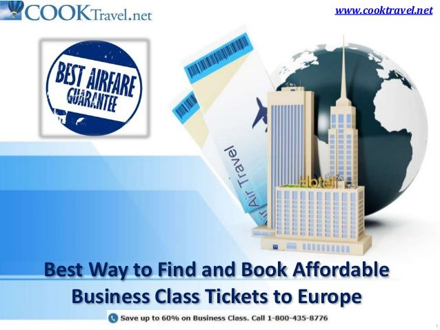 Best Way to Find and Book Affordable Business Class Tickets to Europe