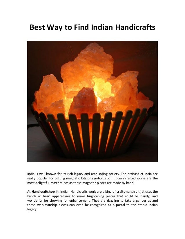 Best Way To Find Indian Handicraft