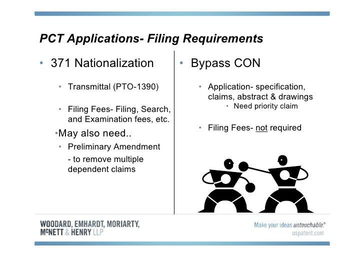 filing 371 application