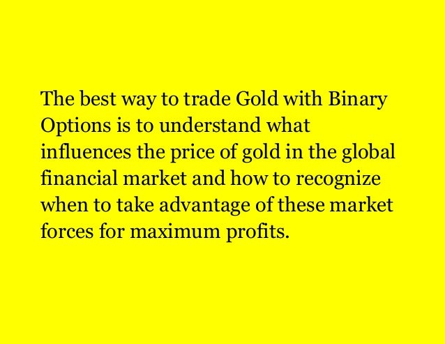 Best way to be successful in binary options