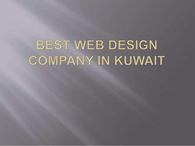 Best web design company in kuwait