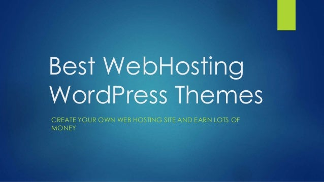 how to make your own web site word press