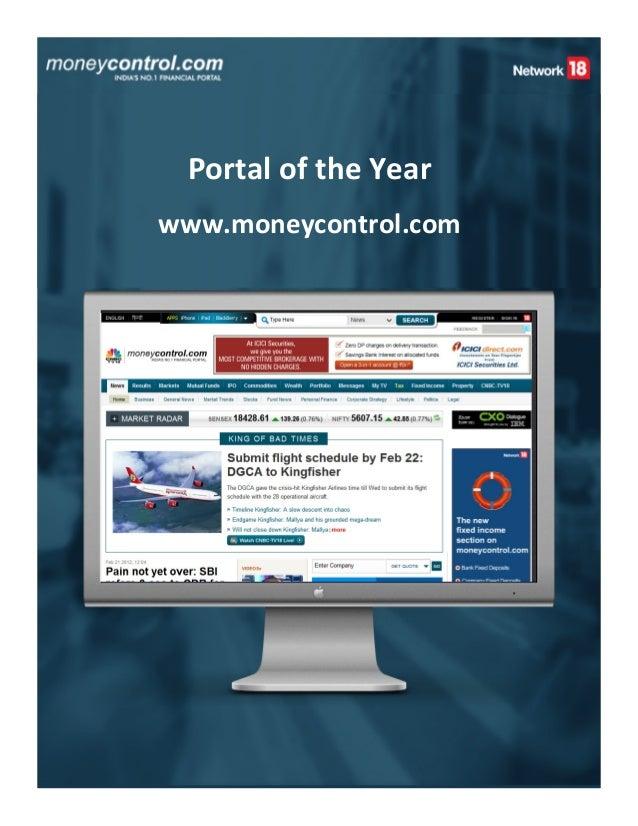 Portal of the Yearwww.moneycontrol.com