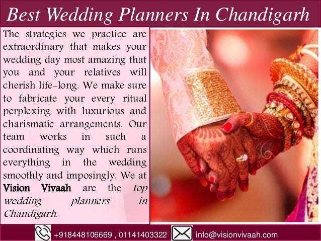 Best Wedding Planners In Chandigarh The strategies we practice are extraordinary that makes your wedding day most amazing ...