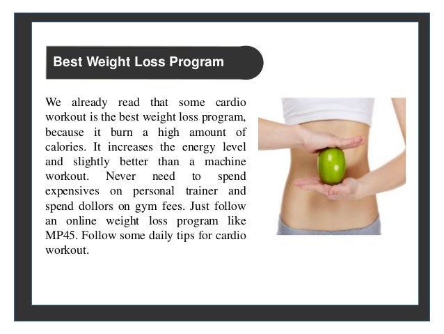 fastest weight loss programme