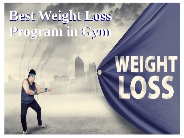 gym programs for weight loss pdf