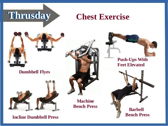 Names Of Chest Workouts | sport1stfuture org