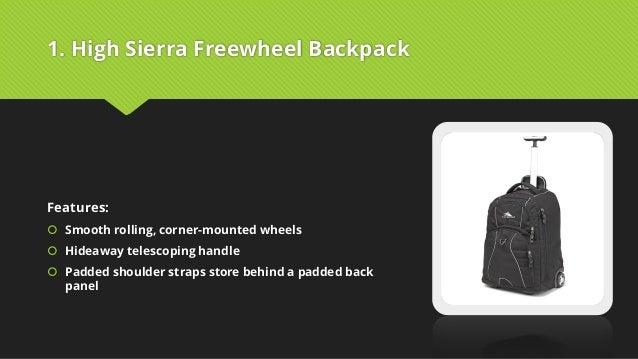 Best wheeled backpack for travel PDF e216e8af4d4db