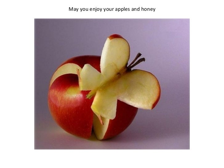 May you enjoy your apples and honey