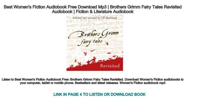 Best Women's Fiction Audiobook Free Download Mp3 | Brothers Grimm Fai…