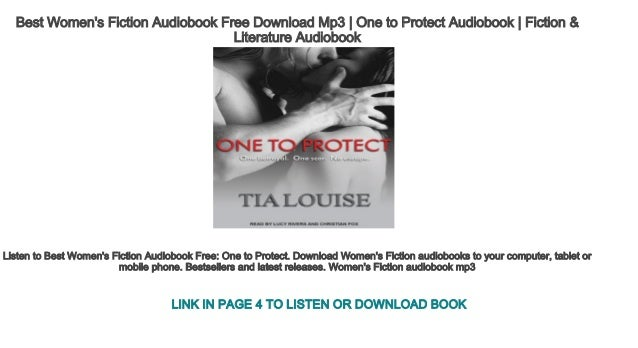 Best Women's Fiction Audiobook Free Download Mp3   One to