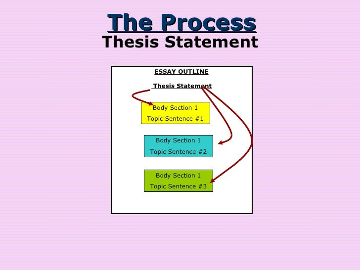 Topic Outline And Thesis Statement Guide Example