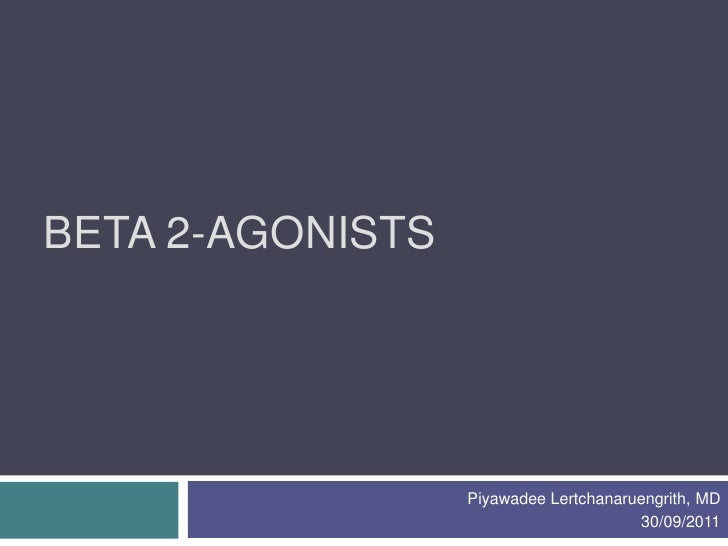 beta 2 antagonister