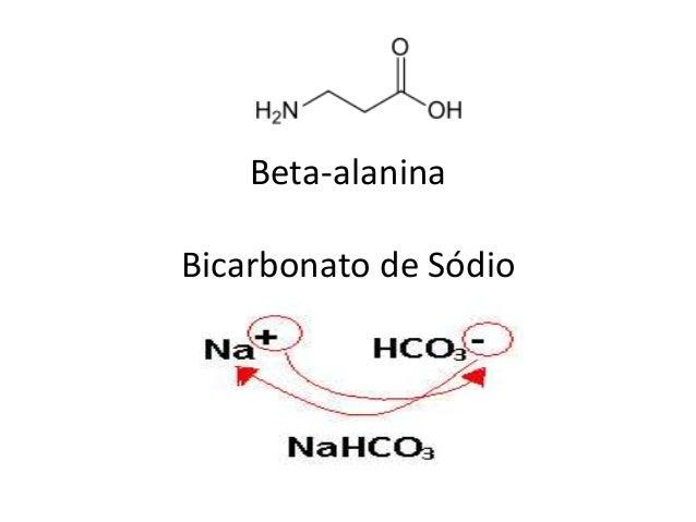 Beta-alanina Bicarbonato de Sódio