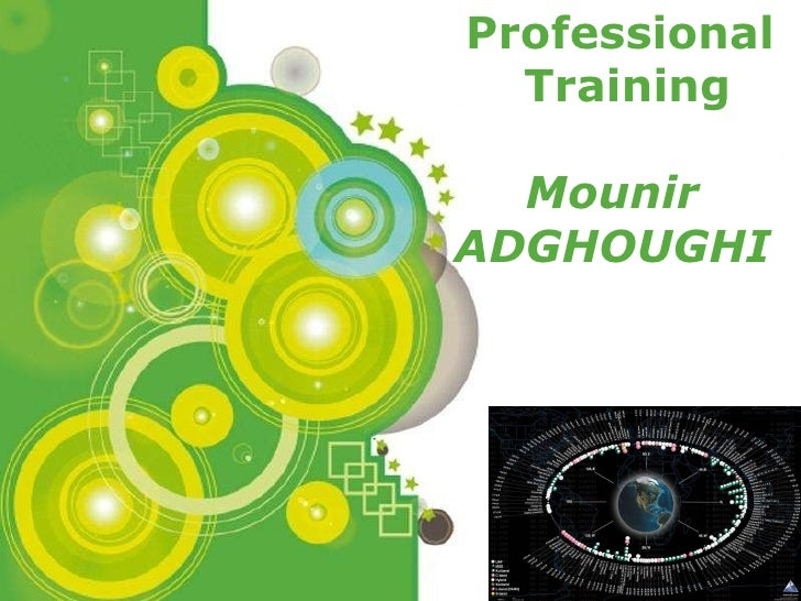 Professional Training Mounir  ADGHOUGHI