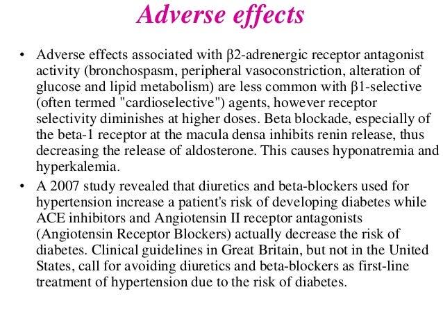 The effects of clonidine hydrochloride versus atenolol ...