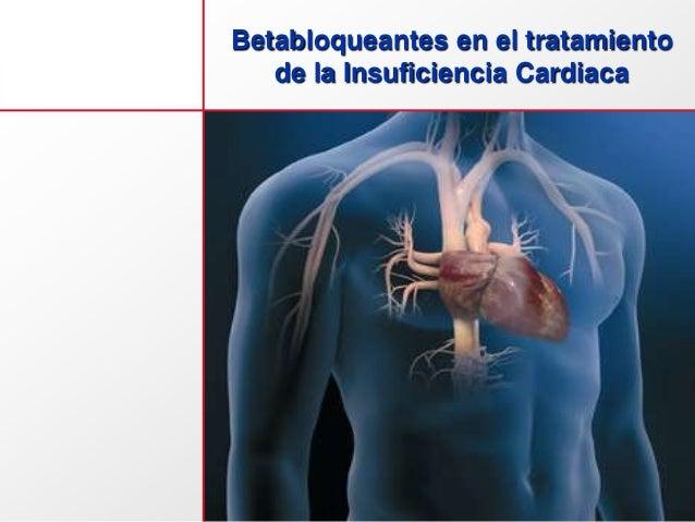 Betabloqueantes en el tratamiento de la Insuficiencia Cardiaca