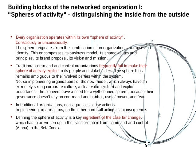 """Building blocks of the networked organization II: """"Network cells"""" – how they differ from functions & departments • Networ..."""