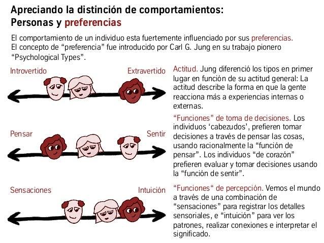 """El comportamiento de un individuo esta fuertemente influenciado por sus preferencias. El concepto de """"preferencia"""" fue int..."""